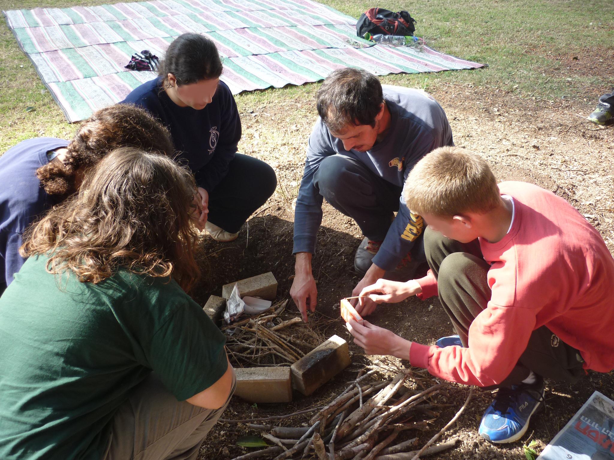 עבודה קבוצתית בטבע תרפיה
