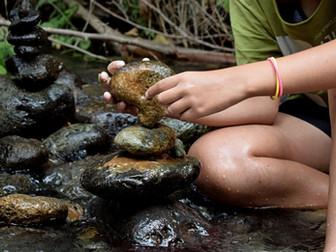 עשרה דברים שיקרו לכם, ללא מאמץ, כשתתחילו לאזן אבנים. #3 תחושת קרקוע ונוכחות