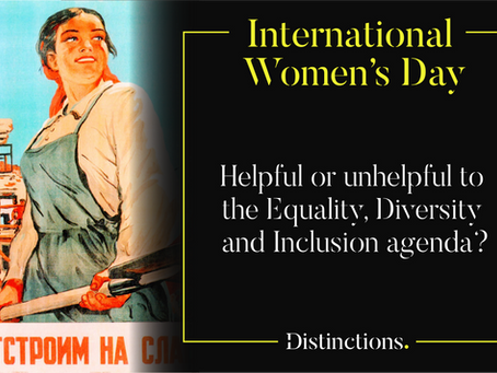 International Women's Day – An Opinion Piece