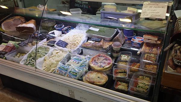 traiteur italien au marché Windsor de Neuilly