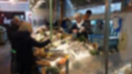 Jordan et Marilyn poissonnerie au marché Windsor, Neuilly-sur-Seine