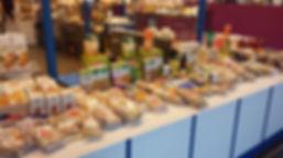 Epicerie BIO, jus de fruits bios marché Windsor Neuilly