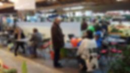 Espace détente et rencontre du marché Windsor à Neuilly