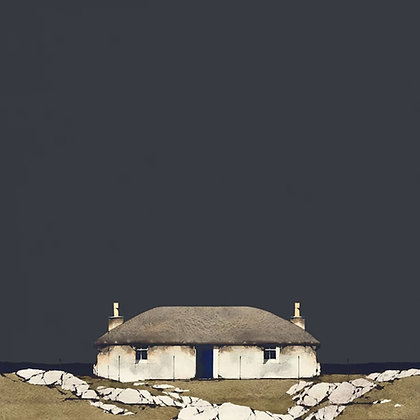 'South Uist Croft House' by Ron Lawson