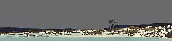 'Arisaig Coast' by Ron Lawson