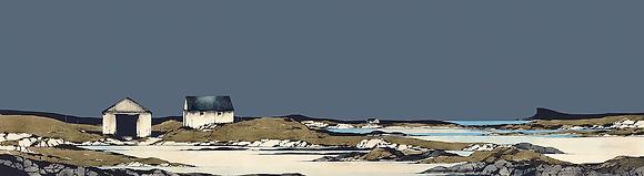 'Arisaig Boathouse' by Ron Lawson