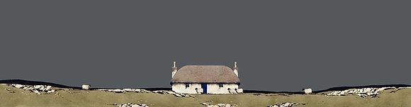 'Hebridean Croft House' by Ron Lawson