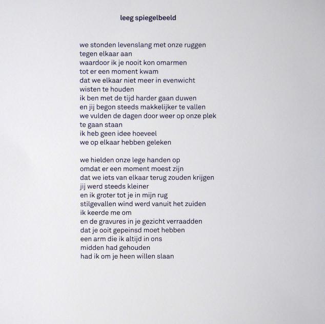 DichtDruk 1 gedicht