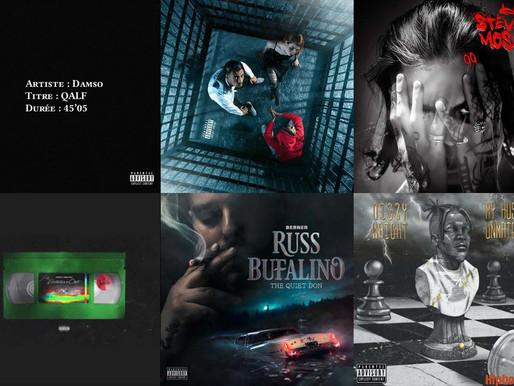 Playlist : sorties de la semaine 38