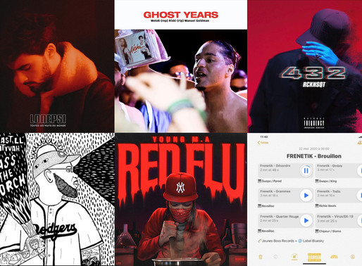 Playlist : sorties de la semaine 21