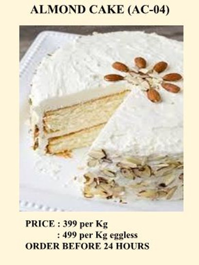 ALMOND CAKE (AC-04)