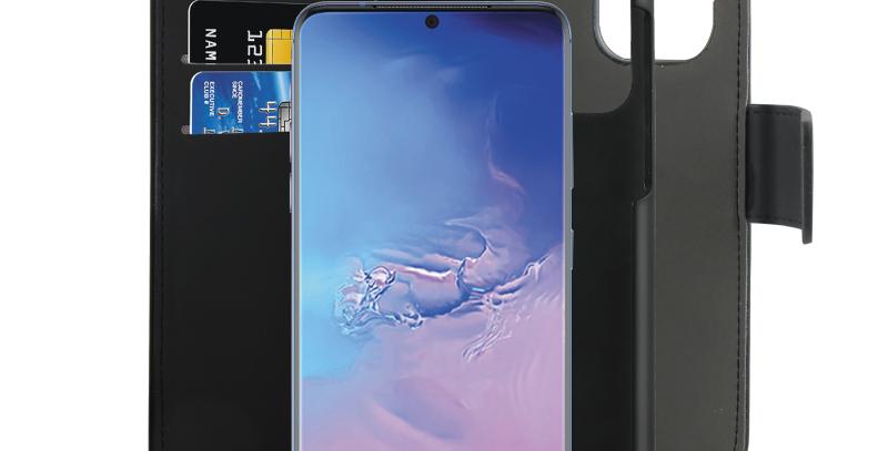 Puro Samsung Galaxy S20 Ultra, avtagbart bokdeksel, svart