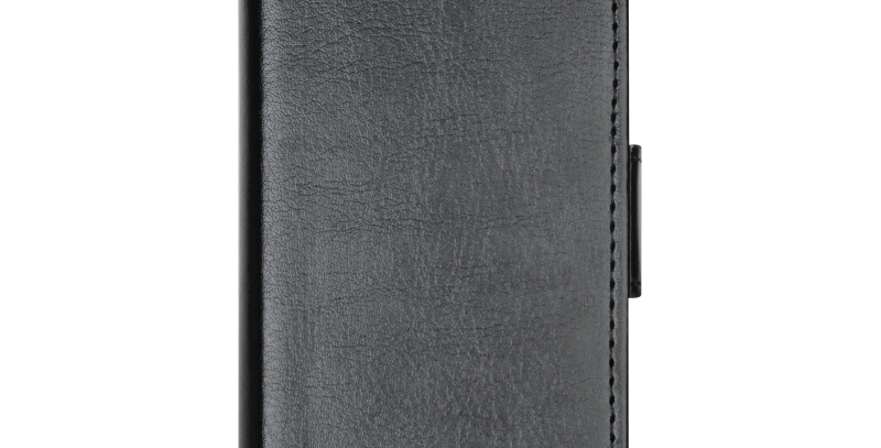 Essentials iPhone SE/5S/5, PU wallet 3 kort, svart
