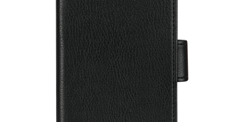 Essentials Samsung Galaxy S10, PU wallet 3 kort, svart