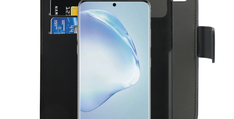 Puro Samsung Galaxy S20, avtagbart bokdeksel, svart