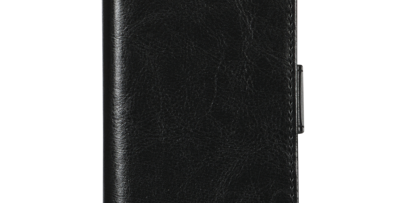 Essentials iPhone 6/7/8/SE (2020), PU wallet 2 kort, svart
