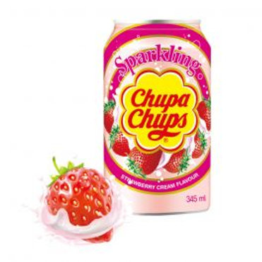 Chupa Chups Sparkling Strawberry Cream