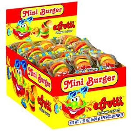 Efruiti Mini Burgers