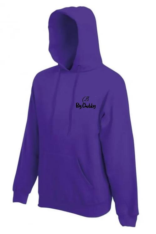 Purple Big Chubby Hoodie