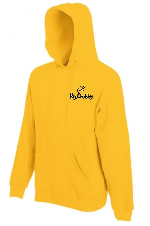 Yellow Big Chubby Hoodie