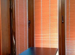 Окна пластиковые деревянные, цветные_edi