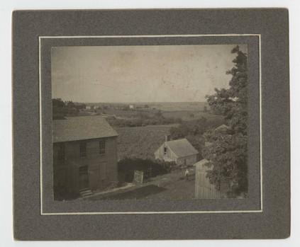 Frame buildings at Shaker Village Circa 1905