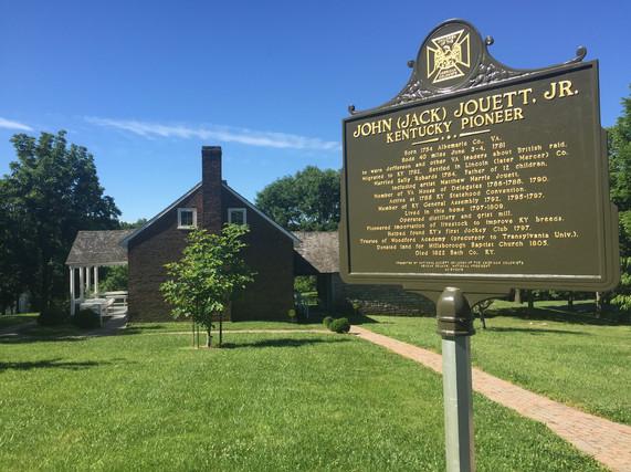 Jack Jouett House Historical Marker