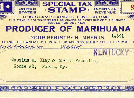 1937 | Marijuana Tax Act requires license and high tax on hemp