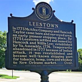 Leestown Historical Marker (Frankfort, Kentucky)