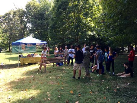 Kentucky Hempsters provide hemp education to Lexington freshman at Ashland Living History event