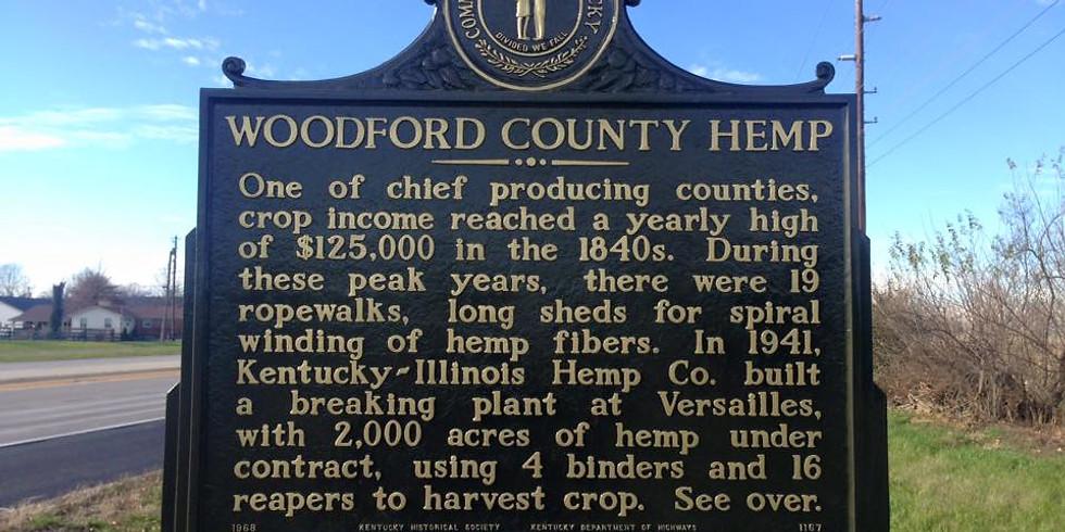 Woodford County Hemp Day at Jack Jouett House