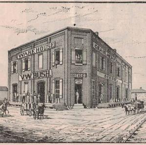 V. W. Bush Warehouse 1889