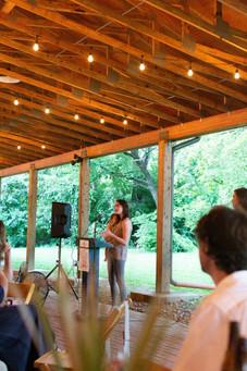 2019 Farmington Hemp Dinner: Katie Moyer, owner of Kentucky Hemp Works and Farmington Event Sponsor