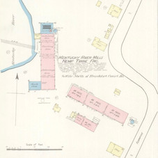 Kentucky River Mills Sanborn Map 1886