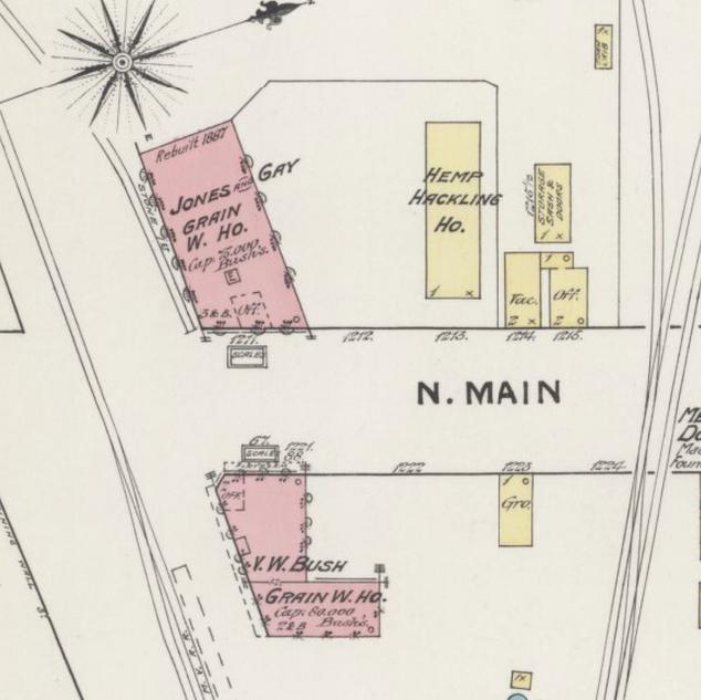1886 Sanborn Insurance Map (Winchester, Kentucky)