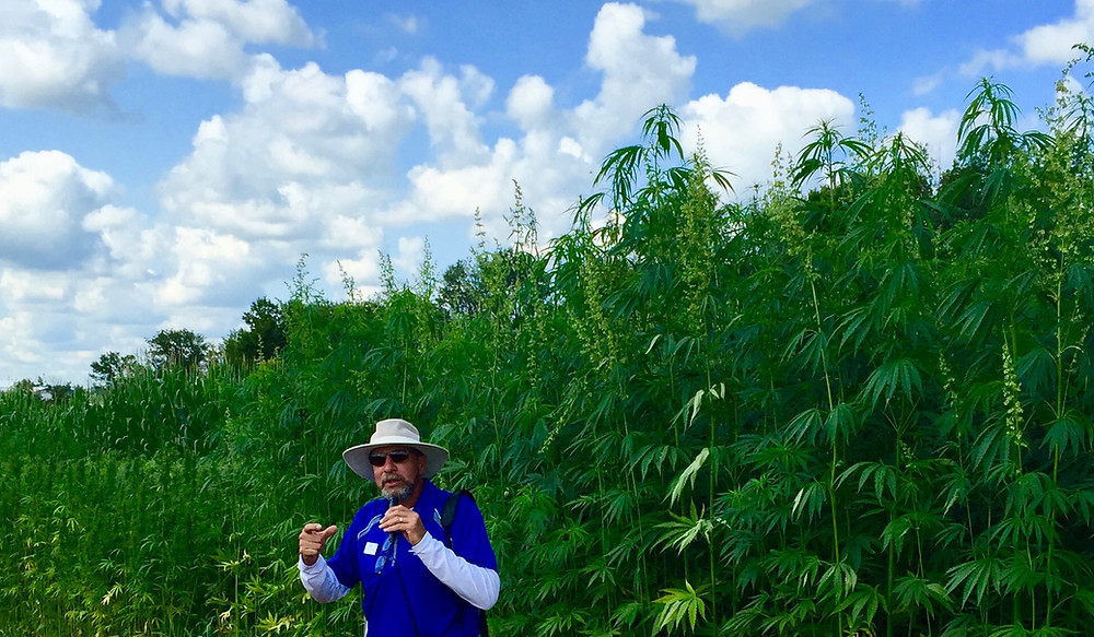 Dr. David Williams speaking at the University of Kentucky Collage of Agriculture, Food and Environment on August 13, 2015. - Photo By Kentucky Hempsters