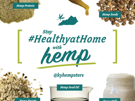Staying #HealthyAtHome With Hemp During COVID-19