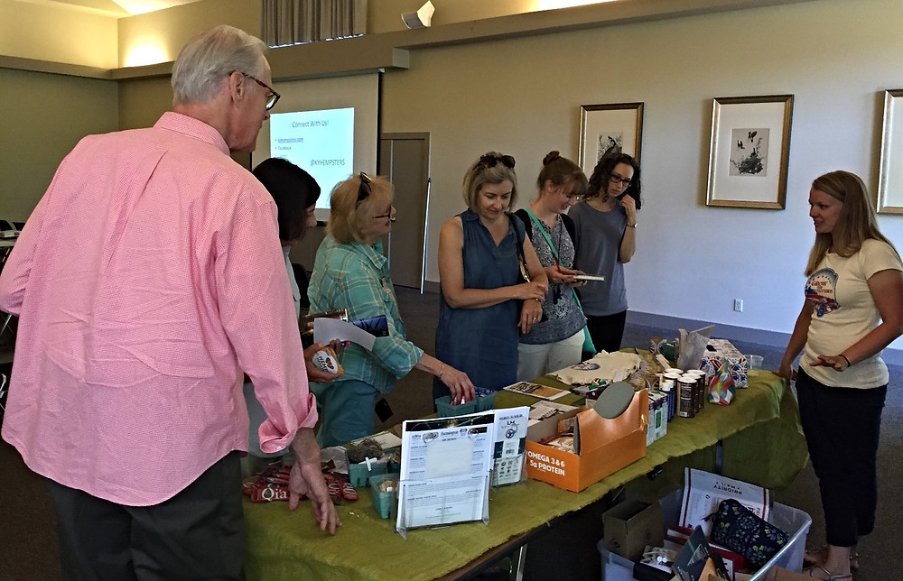 Kentucky Hempsters and Hemp History Week sponsors donated free samples and product guests were able to take home. The best way for people to understand industrial hemp is to see the crop and the variety of products derived from it.