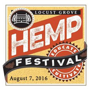 Locust Grove Hemp Festival logo