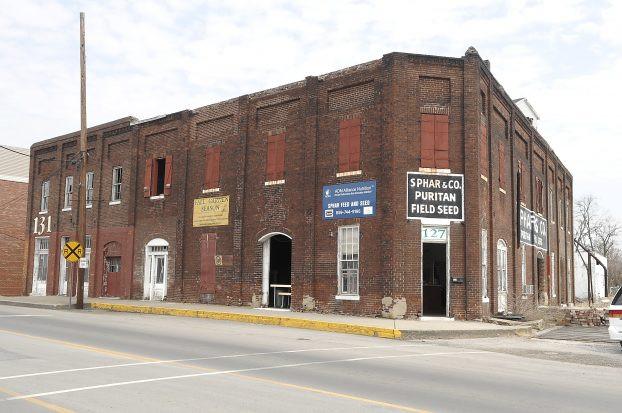 Sphar Building (formerly V.W. Bush Hemp & Grain Warehouse)