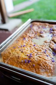 2019 Farmington Hemp Dinner: Hemp Tres Leches Cake made with CBD Honey