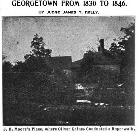 B. O. Gains History of Scott County, Ken