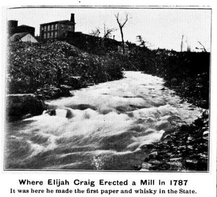 (1905) The Old Mill Dam_Georgetown_Elija