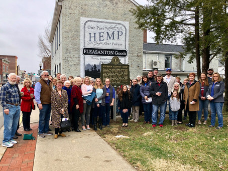 Downtown Paris Welcomes Hemp Historical Marker