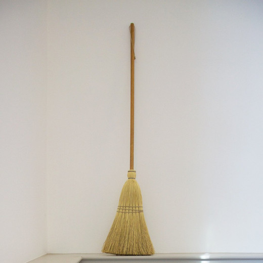 Famous Shaker Brooms tied with hemp twine