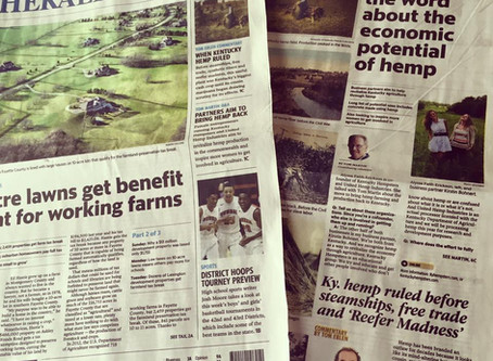 Lexington Herald-Leader features Q&A with Kentucky Hempsters