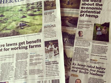 Lexington Herald-Leader features Q&A with Kentucky Hempsters