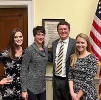 Kentucky Hempsters with Rep. Thomas Massie in D.C.