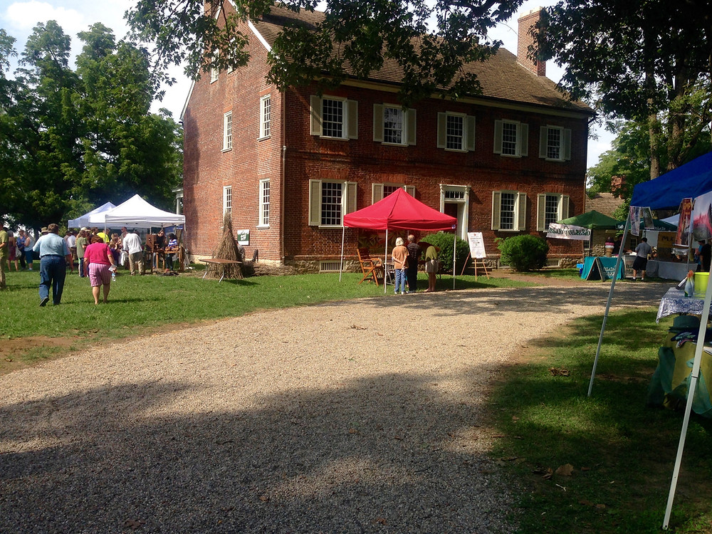 Guests enjoy Hemp Festival at Locust Grove in Louisville on August 9th, 2015.
