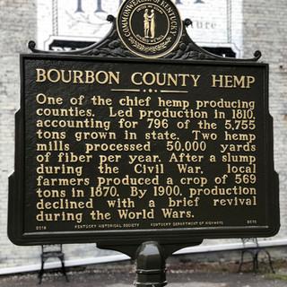 Bourbon County Hemp/Alexander House Kentucky Historical Marker